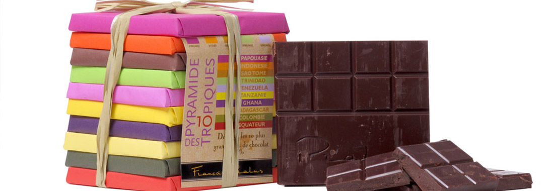 créations de chocolat