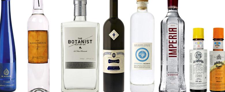 gin, vodka et autres