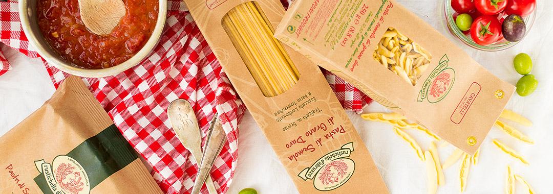pâtes au blé dur italiennes