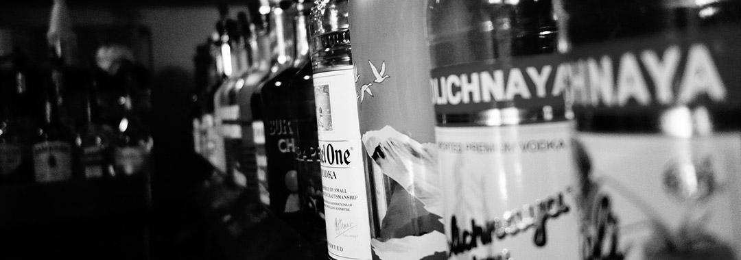 vodka, saké et autres spiritueux