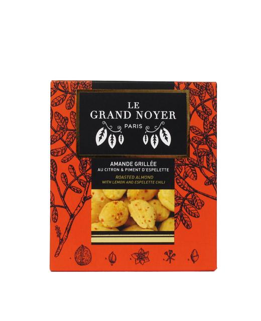 Amande grillée au citron et piment d´Espelette - Le Grand Noyer