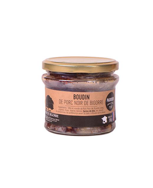 Boudin de porc noir de Bigorre - Padouen