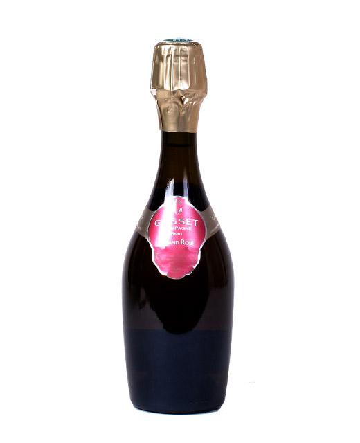 Champagne gosset grand rosé demi bouteille gosset