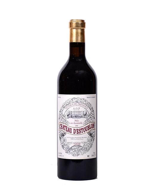 Château d´Estoublon 2008 - AOP Baux-de-Provence - vin rouge -. Vin rouge fruité et délicat à déguster avec une