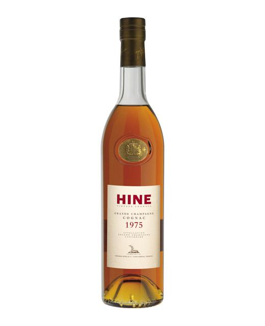 Cognac Hine Grande Champagne 1975 - Hine. Un cognac qui n´a plus besoin d´être présenté.