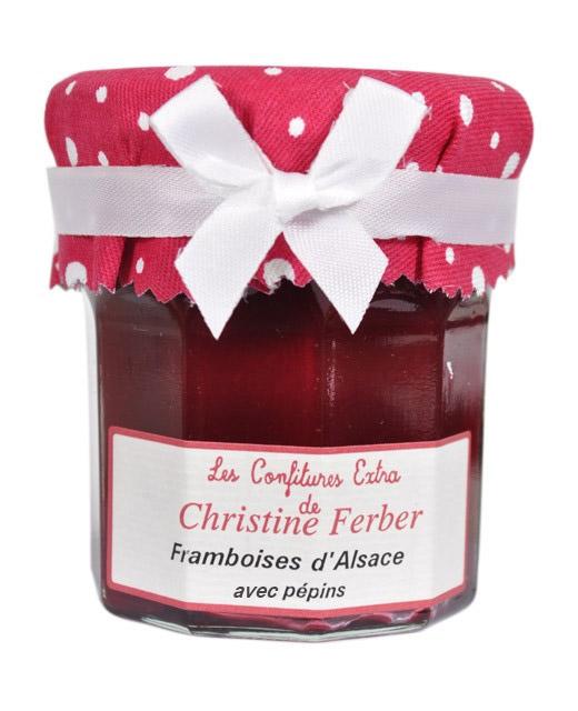 Confiture de framboises avec pépins - Christine Ferber
