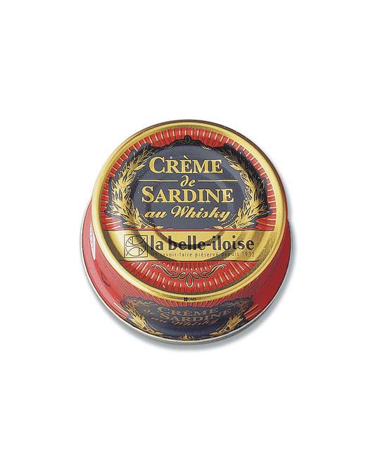 Crème de sardine au whisky - la belle-iloise