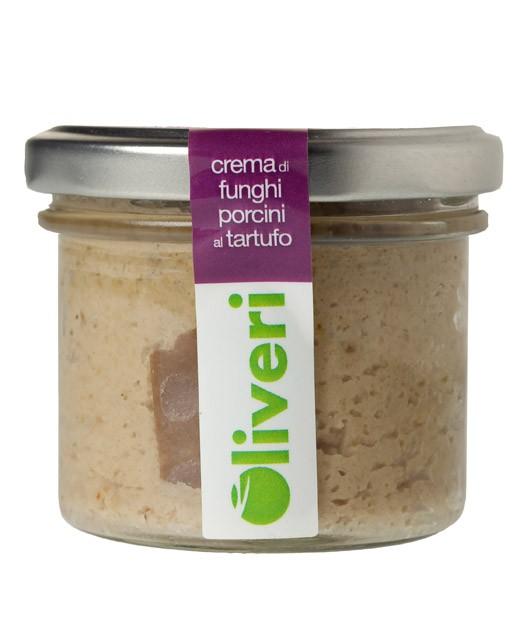 Crème de cèpes à la truffe - Oliveri