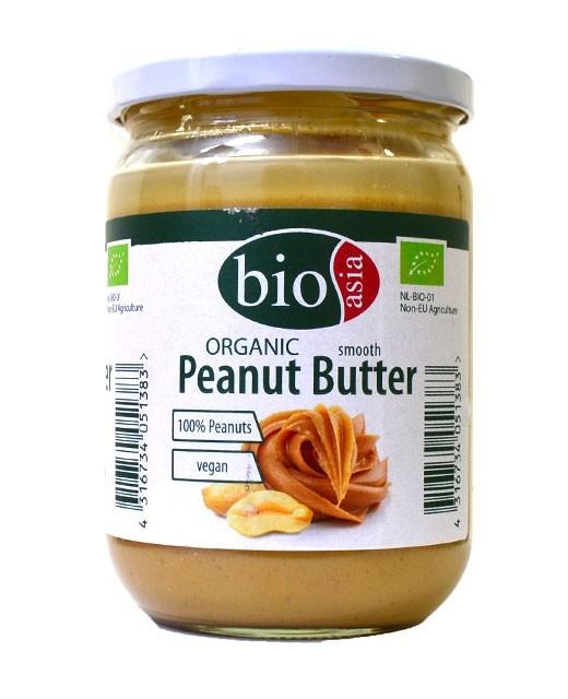 Beurre de cacahuète bio - Bio Asia