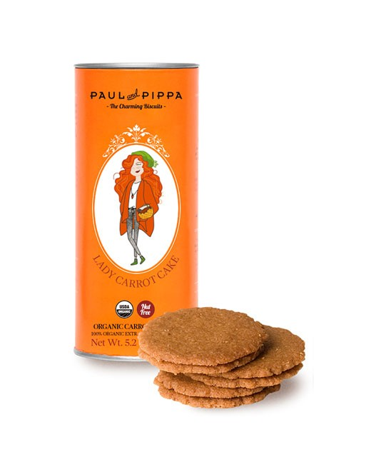 Biscuits bio carrot cake - Paul & Pippa
