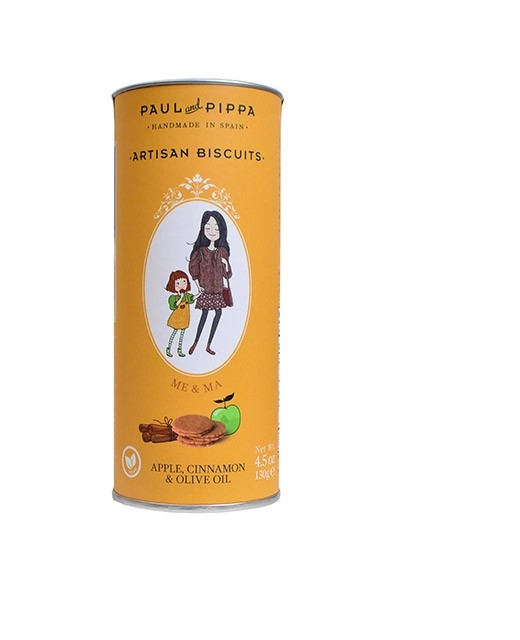 Biscuits bio à la pomme et à la cannelle - Paul & Pippa