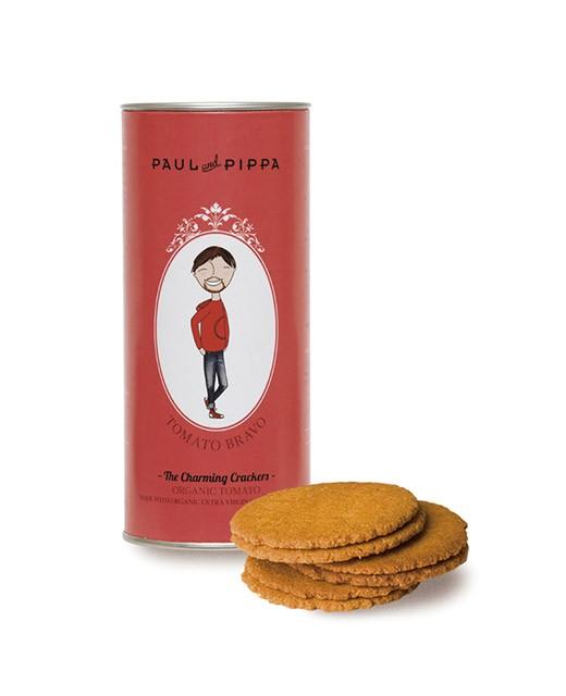 Biscuits bio à la tomate - Paul & Pippa