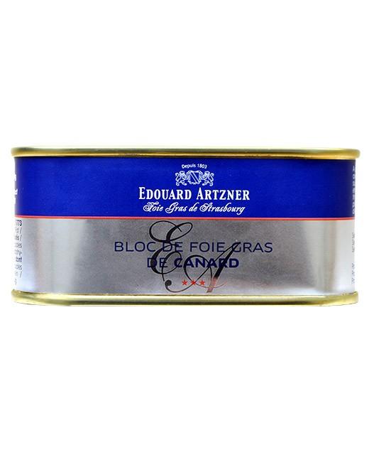Bloc de foie gras de canard 200 g - Edouard Artzner