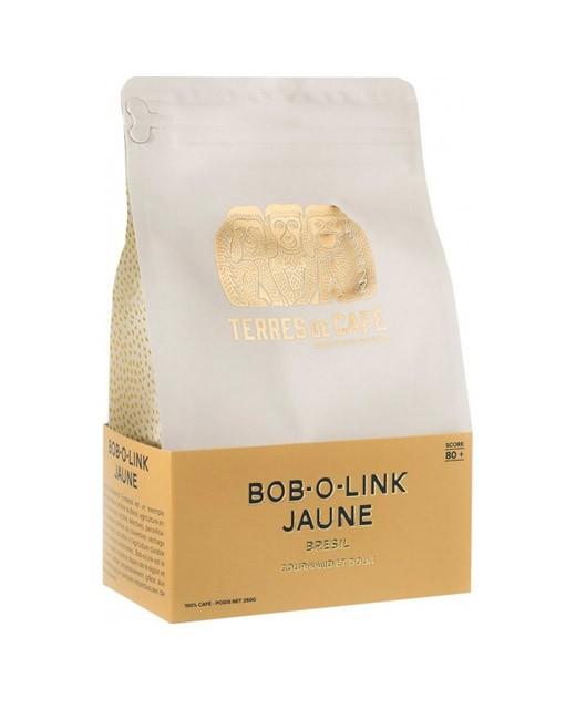 Café Bob-o-Link bourbon jaune - Brésil - grains - Terres de café