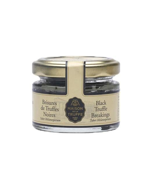 Brisures de truffes noires melanosporum  - Maison de la truffe