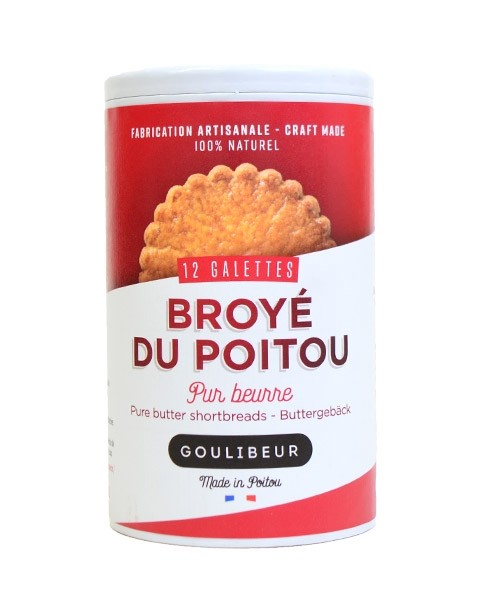 Broyé du Poitou - 12 galettes - Goulibeur