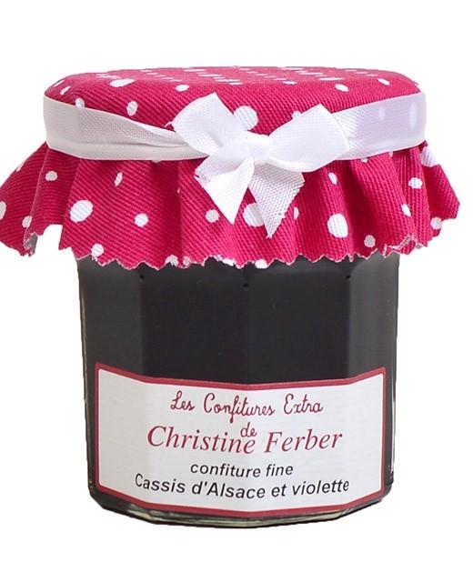 Confiture de cassis et violette - Christine Ferber