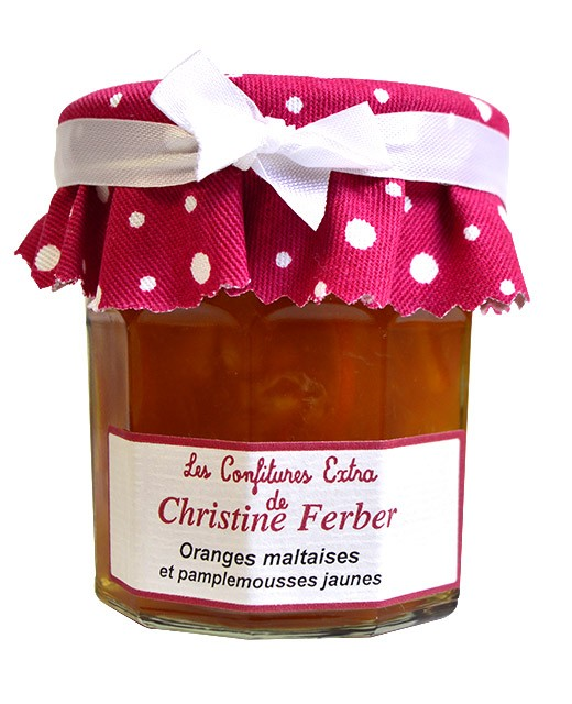 Confiture d'oranges et pamplemousses - Christine Ferber