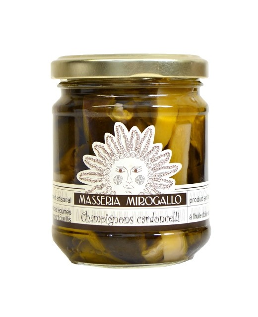 Champignons à l'huile d'olive - Masseria Mirogallo