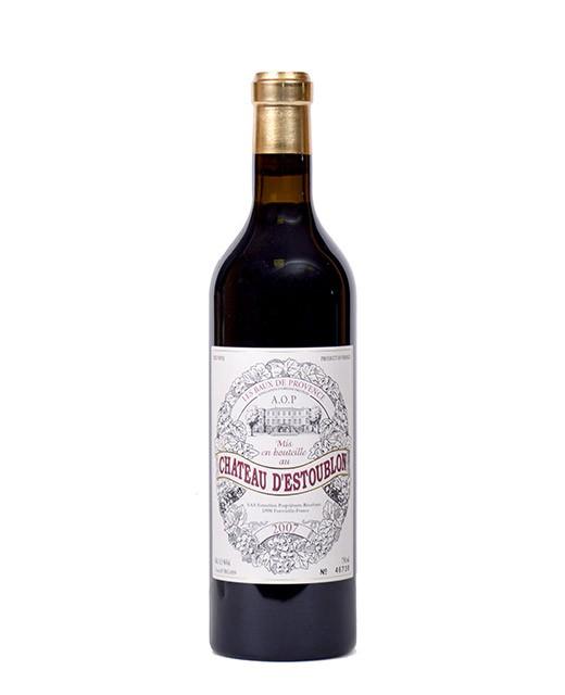 Château d'Estoublon 2007 - AOP Baux-de-Provence - vin rouge -