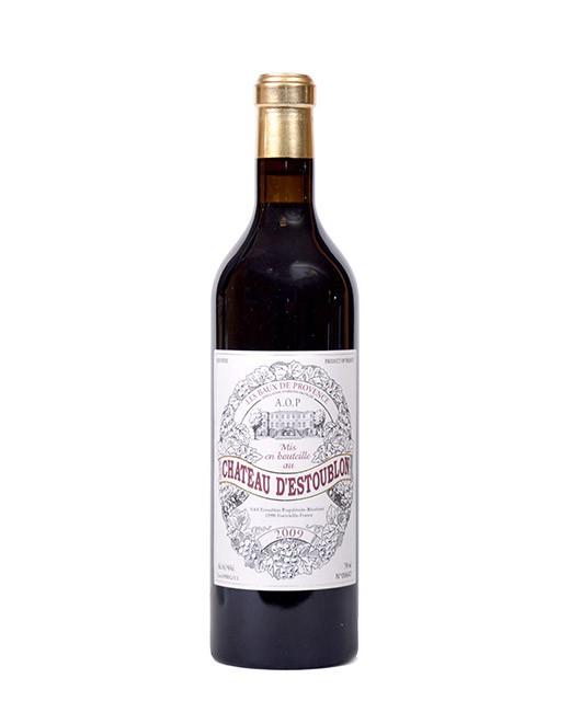 Château d'Estoublon 2009 - AOP Baux-de-Provence - vin rouge -