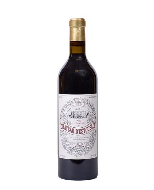 Château d'Estoublon 2010 - AOP Baux-de-Provence - vin rouge -
