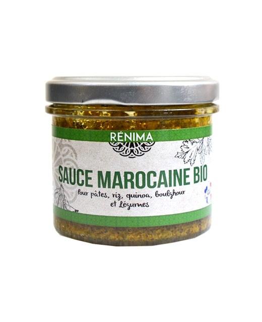Sauce marocaine - sauce légumes et légumineuses bio  - Les Saveurs de Rénima