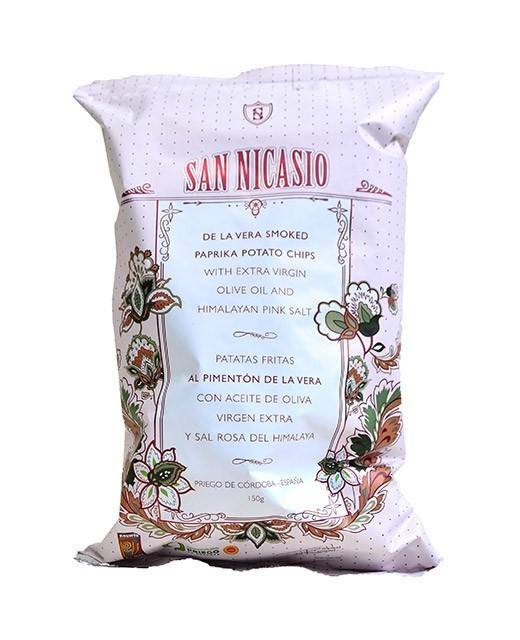 Chips huile d'olive vierge extra - paprika fumé AOP - San Nicasio
