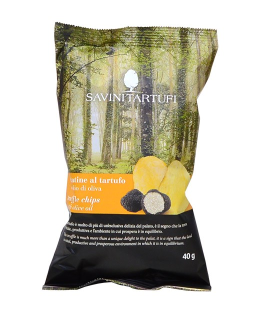 Chips à la truffe et à l'huile d'olive - Savini Tartufi