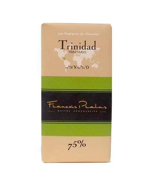 Tablette chocolat noir Trinidad - Pralus