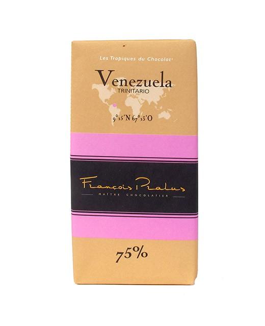 Tablette chocolat noir Venezuela - Pralus
