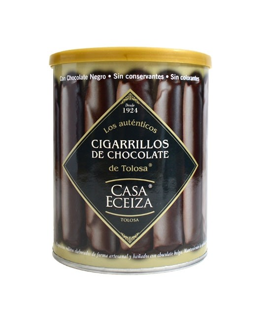 Cigares en chocolat - Casa Eceiza