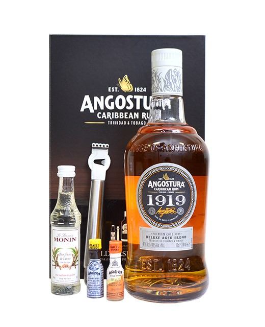 Coffret cocktail Old Fashioned - Rhum Angostura 1919 et ses ustensiles - Angostura