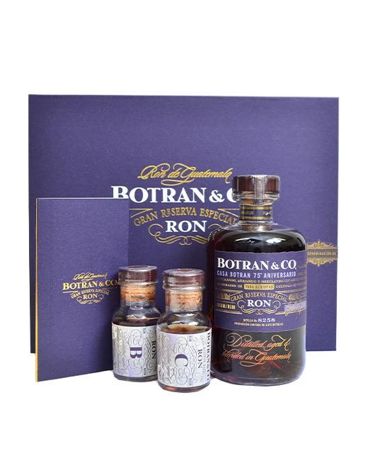 Coffret Rhum Botran - Cuvée 75ème anniversaire  - Botran
