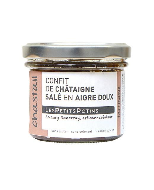 Confit de châtaigne salé en aigre doux - Chastail - Les Petits Potins