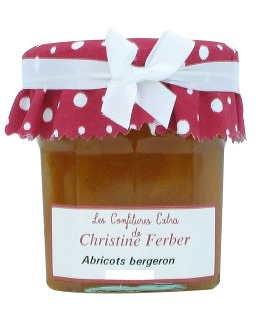 Confiture d'abricots bergeron - Christine Ferber