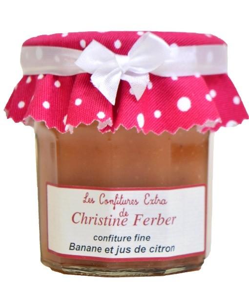 Confiture de banane et jus de citron  - Christine Ferber