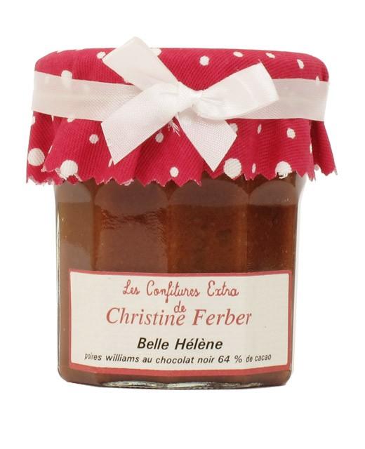 Douceur aux poires williams et chocolat noir 64% - Belle Hélène - Christine Ferber