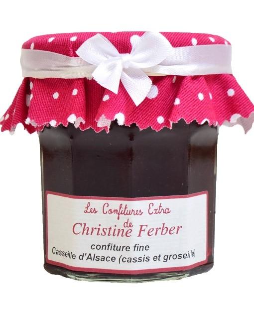 Confiture casseille d'Alsace - cassis et groseille - Christine Ferber