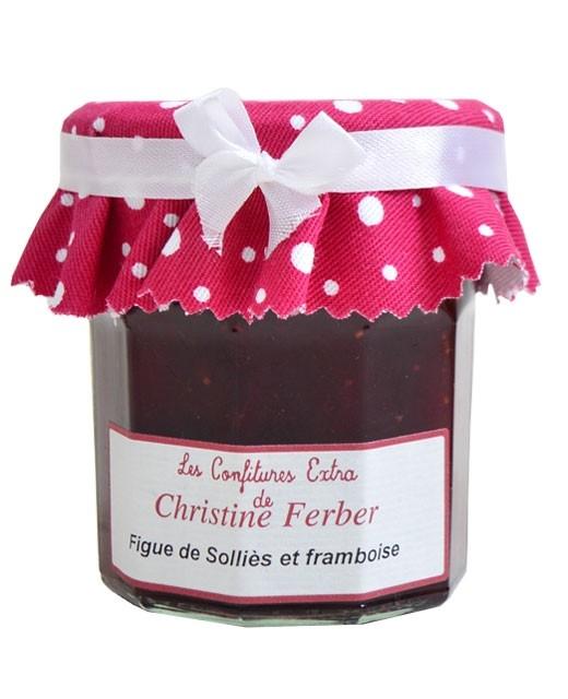 Confiture de figue de Solliès et framboise - Christine Ferber