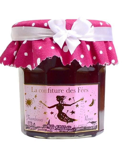 Confiture des fées - Framboises à la rose - Christine Ferber