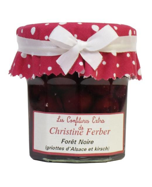 Confiture Forêt Noire aux griottes et au kirsch - Christine Ferber