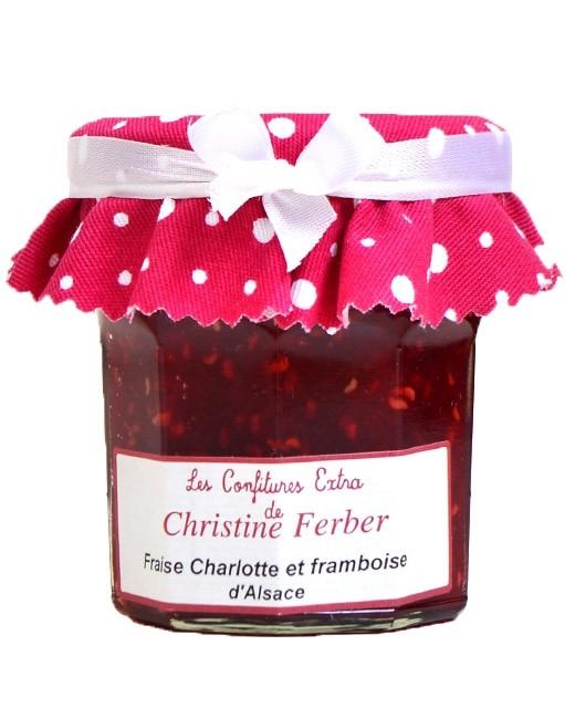 Confiture de fraises et framboises - Christine Ferber