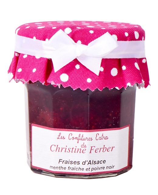 Confiture de fraises à la menthe fraîche et poivre noir - Christine Ferber