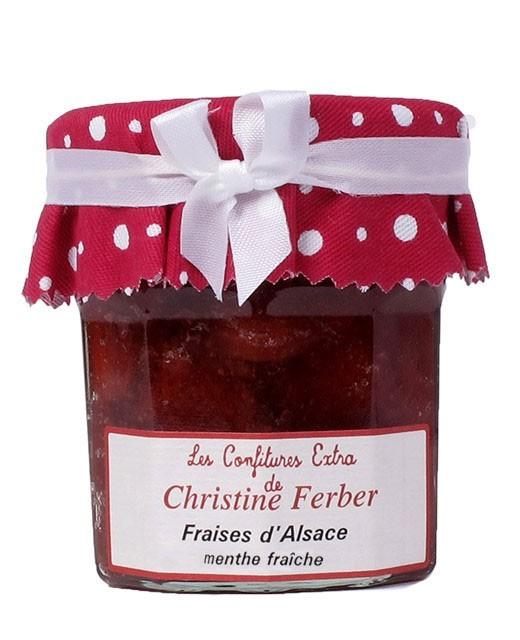 Confiture de fraises à la menthe fraîche - Christine Ferber