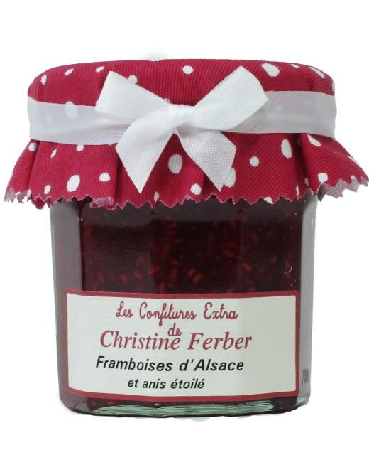 Confiture de framboises à l'anis étoilé - Christine Ferber