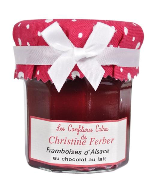 Douceur de framboises et chocolat au lait - Christine Ferber