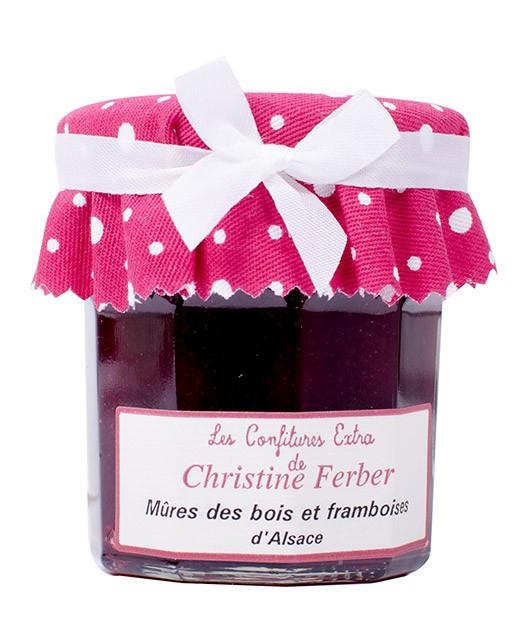 Confiture de mûres et framboises - Christine Ferber