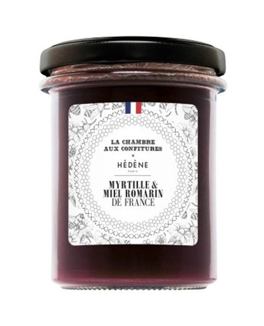 Délice myrtille et miel de romarin  - Hédène