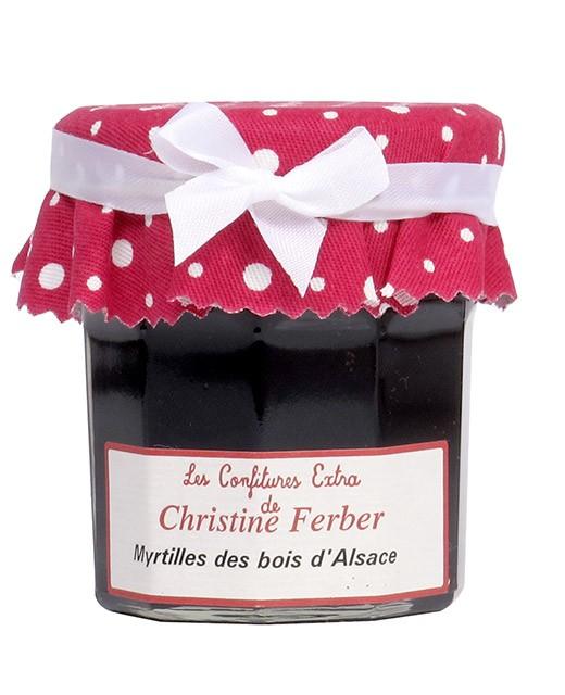 Confiture de myrtilles des jardins - Christine Ferber